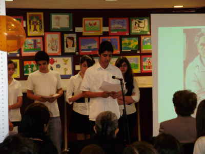 "K. Tahta Armenian Community Sunday School in London and the London Chapter of the AGBU organised an exhibition of paintings by the school children entitled ""Armenia and the colours of Armenia through the eyes of children in the Diaspora""."